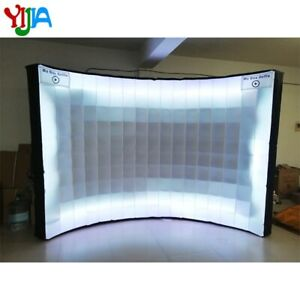 Inflatable Photo Booth Wall Background Frame with LED for Event and Exhibition