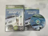 Need for Speed: Shift (Microsoft Xbox 360, 2009) Complete - Fast Shipping