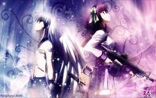 153506 Angel Beats Anime Art Wall Print Poster Affiche
