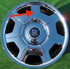 Rolls-Royce Phantom Wheel Spoke Insert OEM Factory Chrome 21 inch Inlay 6777236