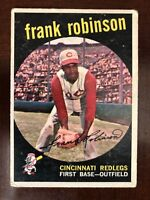 1959 TOPPS #435 FRANK ROBINSON REDS