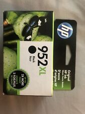 HP 952XL Black New In Box. Expires Dec 2021