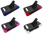 Kickstand Hybrid Phone Cover Case For Motorola Droid Razr M/I XT907 Luge