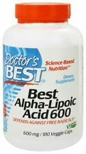 Doctor's Best Alpha-Lipoic Acid 600mg 180 Veggie Caps