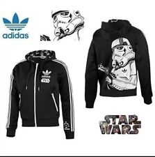 Adidas Originals Star Wars Stormtrooper Track Top Hoody Jacket  XXL Double XL.