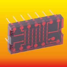 TIL305 TEXAS INSTRUMENTS 5 X 7 ALPHANUMERIC RED LED DISPLAY