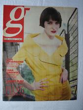 Girl About Town - August 1989 magazine Tama Janowitz Robert Elms