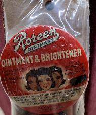 Vintage Tin Roreen Ointment Brightener Skin Brightner Mercury Oxide Reliable Com