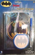 DC Comics Batman Lenticular Journal Set  3-piece set Boys 4 yrs+ by FAB New