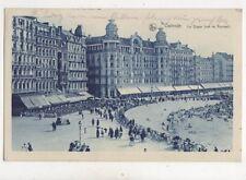 Ostende La Digue Vue Du Kursaal Belgium 1927 Postcard 946a