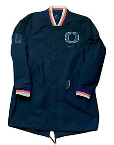 Unreleased Sample Mens Nike Oregon Ducks Football On Field Player Jacket Sz M