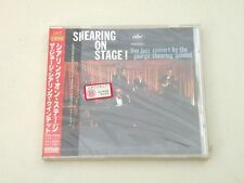 THE GEORGE SHEARING QUINTET - SHEARING ON STAGE - JAPAN CD 1998 W/OBI EMI NEW!