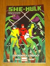 She Hulk Disorderly Conduct Vol 2 Charles Soule (Paperback, 2015)< 9780785190202