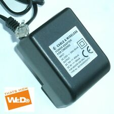 CABLE & Wireless Adattatore cwd2900 bd100045d090018i 10V / 450mA 9V / 180mA UK