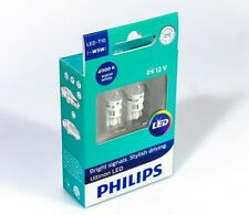 Philips W5W T10 Ultinon LED Warm White 4000K Interior and Parking Car Light 12V