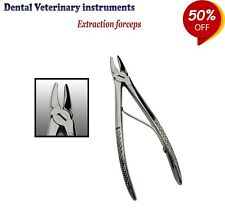 Veterinary Instruments Rabbit & Rodent Teeth Extracting Forceps for Small Animal
