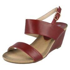 39 Sandali e scarpe casual rossa per il mare da donna