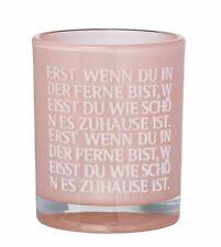 """Räder Design Teelichthalter Poesielicht """"erst Wenn Du..."""" 13168"""