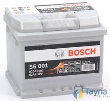 Bosch Type 063 Car Van Battery 5 Year Warranty S5001 - 5 Year Wty - Next Day Del