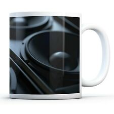 Awesome Music Speakers - Drinks Mug Cup Kitchen Birthday Office Fun Gift #14351