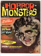 WoW! Horror Monsters #1 The Curse Of The Werewolf! Frankenstein! Monster Pin-Ups