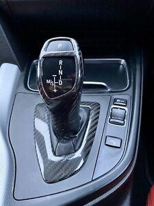 BMW F30 F31 F32 F33 F34 335 318 320 325 330  I D CARBON GEAR SURROUND TRIM RHD
