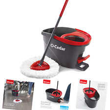 O-Cedar Easy Wring Microfiber Spin Mop and Bucket Floor Cleaning System Bucket