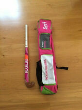 Hockey bag Kookaburra in excellent condition and hockey stick 35 ''