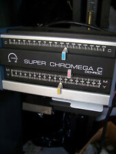Omega Super Chromega Dichroic C Head Photo Enlarger Developing Darkroom Film Vtg