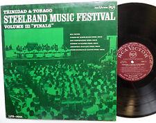 Trinidad & Tobago STEELBAND Music Festival Vol.3 LP Calypso RCA Trinidad press