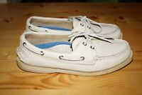SPERRY TOP-SIDER ICE LEATHER CASUAL BOAT SHOES 9195041 WOMENS SIZE 8.5 M
