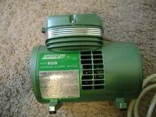 Speedaire 4z791 Diaphragm Type Air Brush Mini Compressor Made By Dayton Electric