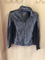 Women's Plus Size Tangerine Gray Ans Black Active Jacket Size XXL