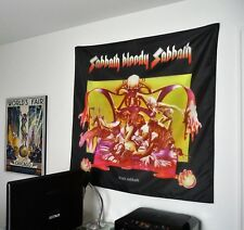 BLACK SABBATH Bloody Sabbath HUGE 4X4 BANNER poster tapestry cd album cover