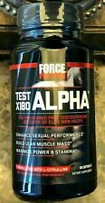 Force Factor Test X180 Alpha Testo Boost Increase Libido Lean Muscle EXP 03/2024