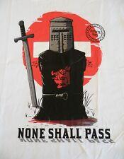 # SALE # T-Shirt - Monty Python - Holy Grail - None Shall Pass