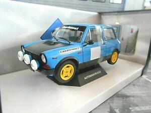 AUTOBIANCHI A112 Abarth Rallye blau blue Chardonnet MK5 NEU Solido Metal 1:18