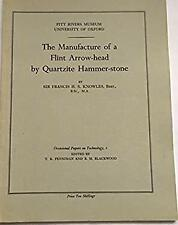 Manufacture of a Flint Arrow-Head by Qua by Knowles, Sir Francis H.S.