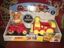 Disney Junior Muppet Babies Fozzie's Trike & Train 2 in 1 Vehicle!