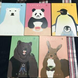 """Japanese Language""Shirokuma Cafe Vol.1-5 Complete Set"