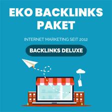 Backlinks Paket EKO - HIGH DA - EDU Backlinks - Bookmarks - SEO - Linkaufbau