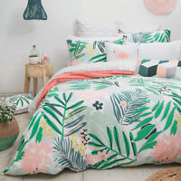 Bambury Lani Hawaii 100% Cotton Quilt Doona Cover Set - SINGLE DOUBLE QUEEN KING