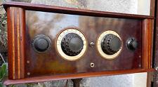Belle radio de marque Leroy 5 lampes des année 1928/29
