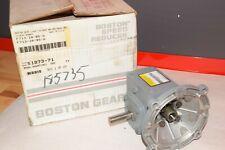 NEW BOSTON GEAR F713-10-B5-G F71310B5G 10:1 .75HP  RATIO GEAR SPEED REDUCER