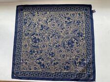 Versace silk blue bandanna
