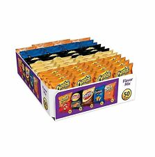 Frito Lay Flavor Mix Chips and Snacks Variety Pack 50 ct Individually Wrapped