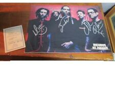 Authentic Incubus Music Group Signed Magazine Page With Coa