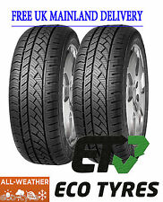 2X Tyres 225 70 R15C 112/110R 8PR House brand 4S All weather Winter/Summer M+S