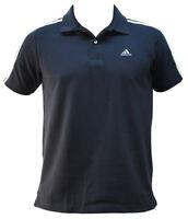 ADIDAS 3S CR Ess Herren Polo Shirt Hemd - Dunkelblau - Poloshirt - Essential