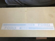 Ford 1600 Hood Decals